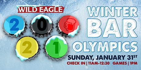 "Wild Eagle Saloon 2021 Winter ""Bar Olympics"" tickets"