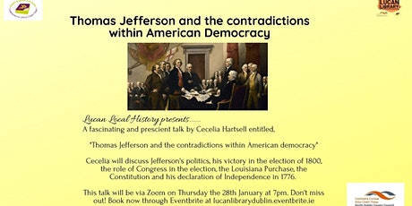 Thomas Jefferson and the Contradictions of American Democracy tickets