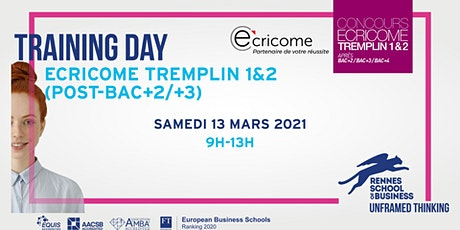 Training Day - Ecricome Tremplin billets