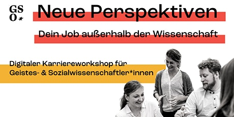 Karriereworkshop für Geistes- & Sozialwissenschaftler*innen Tickets