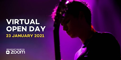 Virtual Open Day 23rd of January 2021 tickets