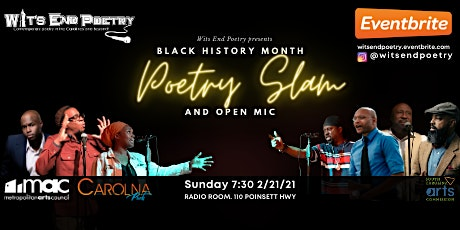 Black History Month Poetry Slam and Open Mic tickets