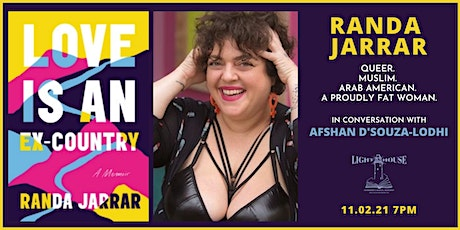 Love Is An Ex Country:  Randa Jarrar discusses fat, queer, muslim womanhood tickets