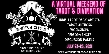 Witch City Tarot Gathering 2021 tickets