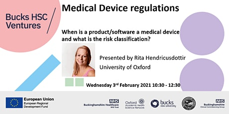 Medical Device Regulations – When is a Product/Software a Medical Device? tickets