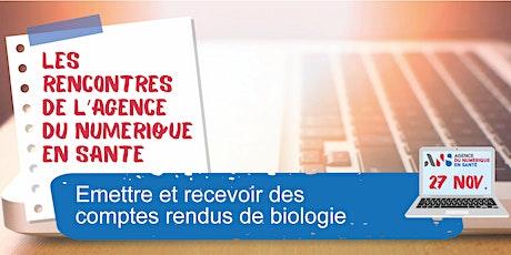 Produire des CR-BIO en LOINC, contexte de la biologie hospitalière billets
