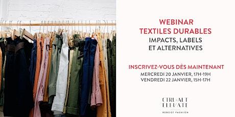 Matières textiles et environnement : comprendre les impacts et les labels billets