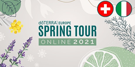 dōTERRA Spring Tour Online 2021 - Swiss / Italian biglietti
