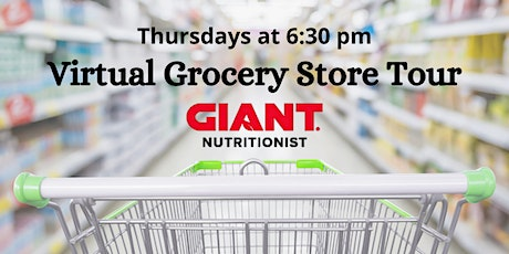 February VIRTUAL Grocery Store Tour Classes tickets