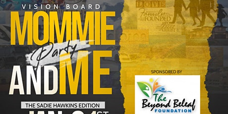 Mommie and Me Vision Board Party 1:00 PM - 3:00 PM tickets