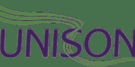 UNISON Cwm Taf Morgannwg Health Branch AGM Notice 2021/2022 tickets