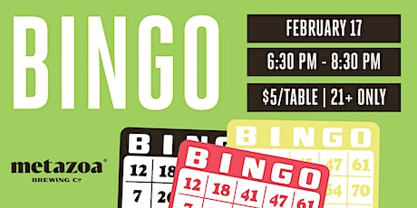 Bingo Night tickets