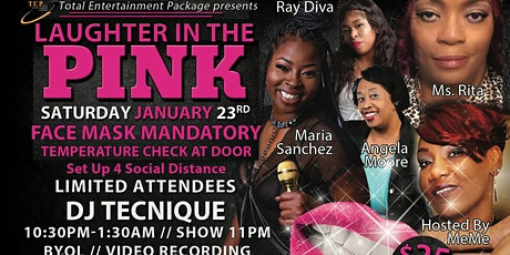 Laughter In The Pink tickets