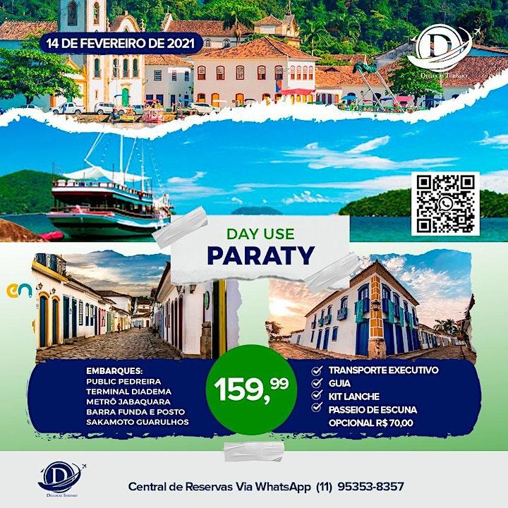 Imagem do evento Day Use Paraty