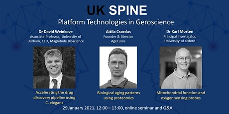 UK SPINE virtual lunchtime seminar: Platform Technologies in Geroscience tickets