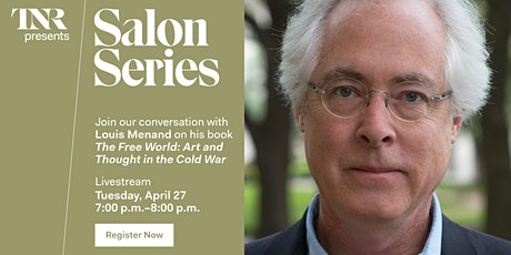 TNR Salon Series With Louis Menand tickets