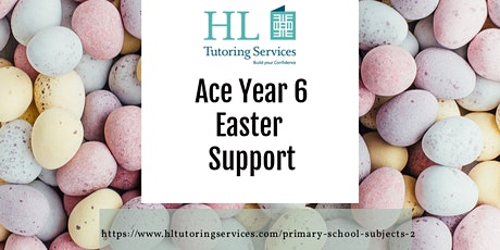 Online Easter Ace Year 6  Support Class (Primary KS2) 4 x 1.5hour Course tickets