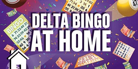 Delta Bingo at Home - January  21 tickets