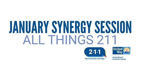 United Way's January 29th Synergy Session - All Things 211 tickets