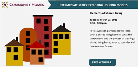 Elements of Shared Living 3/23/21 tickets