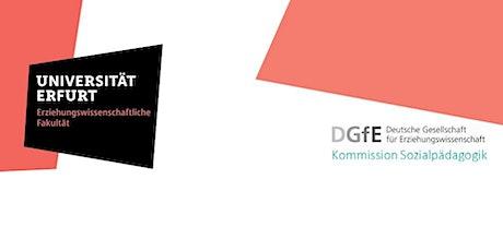 Jahrestagung der DGfE-Kommission Sozialpädagogik 2021 Tickets
