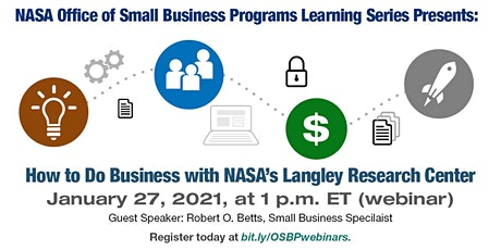 OSBP Learning Series: How to Do Business with NASA's LaRC tickets