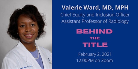 Behind the Title with Valerie Ward tickets