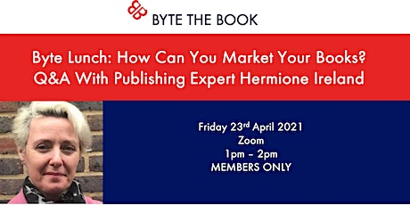 Byte Lunch: How Can you Market Your Books? tickets