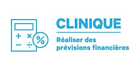 Clinique | Réaliser des prévisions financières billets