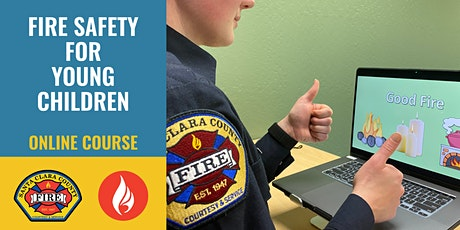 ONLINE PROGRAM Fire Safety for Young Children - Come Learn with Us! billets