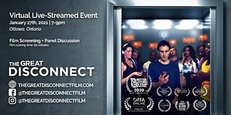 Ottawa Virtual Screening of The Award Winning Film - The Great Disconnect tickets