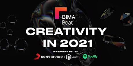 BIMA Beat   Creativity in 2021 biglietti