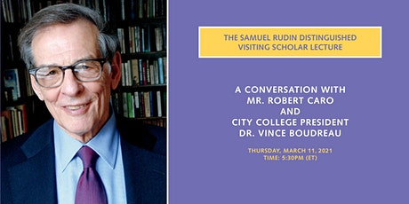 THE SAMUEL RUDIN DISTINGUISHED VISITING SCHOLAR LECTURE tickets
