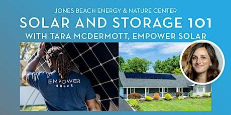 Solar and Storage 101 biglietti