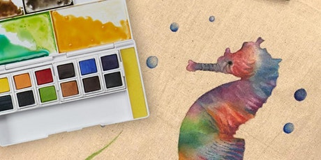 HOW TO USE DERWENT INKTENSE WATERCOLOURS - FREE tickets
