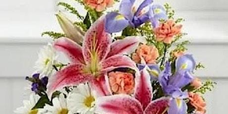 June Iris Floral Design Class tickets