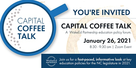 WakeEd Partnership's Capital Coffee Talk tickets
