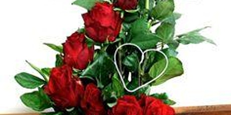 August Red Roses Floral Design Class tickets