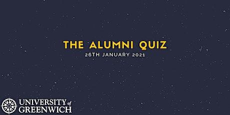 University of Greenwich Alumni Quiz tickets