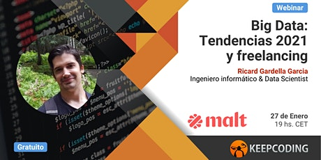 Webinar Big Data: Tendencias 2021 y freelancing entradas