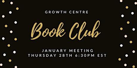 January Book Club tickets