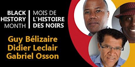 Perspectives sur la littérature afro-canadienne et francophone tickets