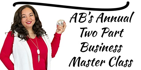 AB's Two Part Business Master Class tickets