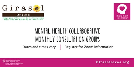 Mental Health Collaborative Monthly Consultation Groups tickets