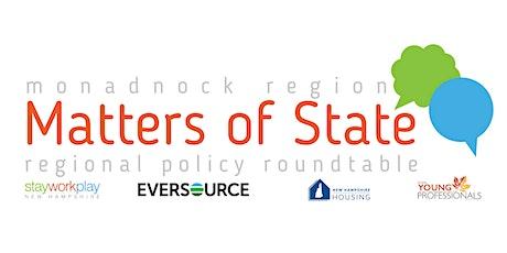 Matters of State: Monadnock Region tickets