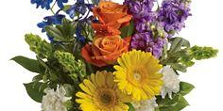 September Colorful Floral Design Class tickets