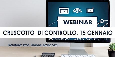 BOOTCAMP CRUSCOTTO DI CONTROLLO, streaming Bari, 15 gennaio biglietti
