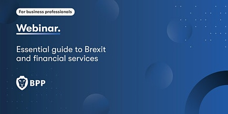 Brexit and financial services - Essential guide for legal professionals tickets