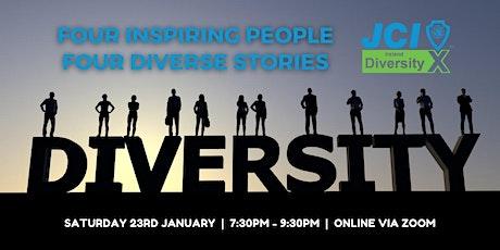 Diversity X hosted by JCI Mayo tickets