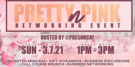 Pretty N' Pink Brunch Networking Event tickets